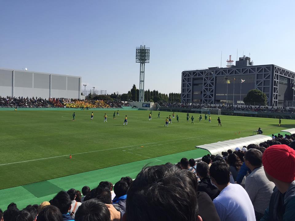 第95回全国高校サッカー選手権東京予選準決勝
