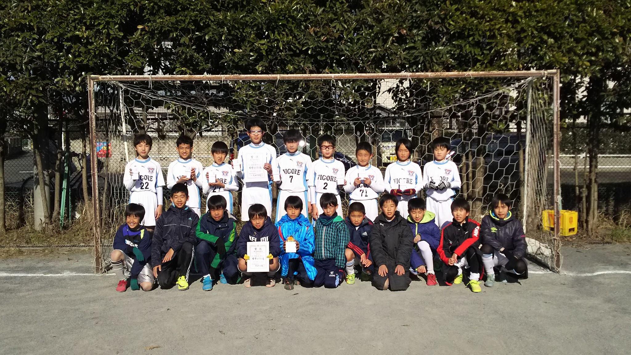 東大和Jr.6年生 東大和市市民体育大会3位入賞!