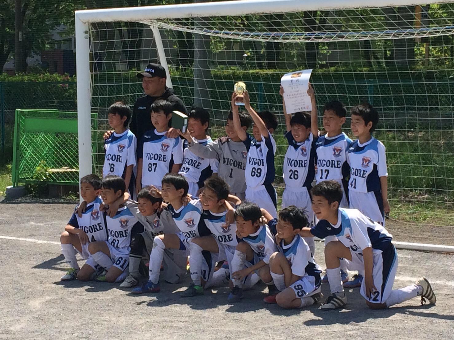フェアプレーカップ10ブロック大会 立川Jr4年生1