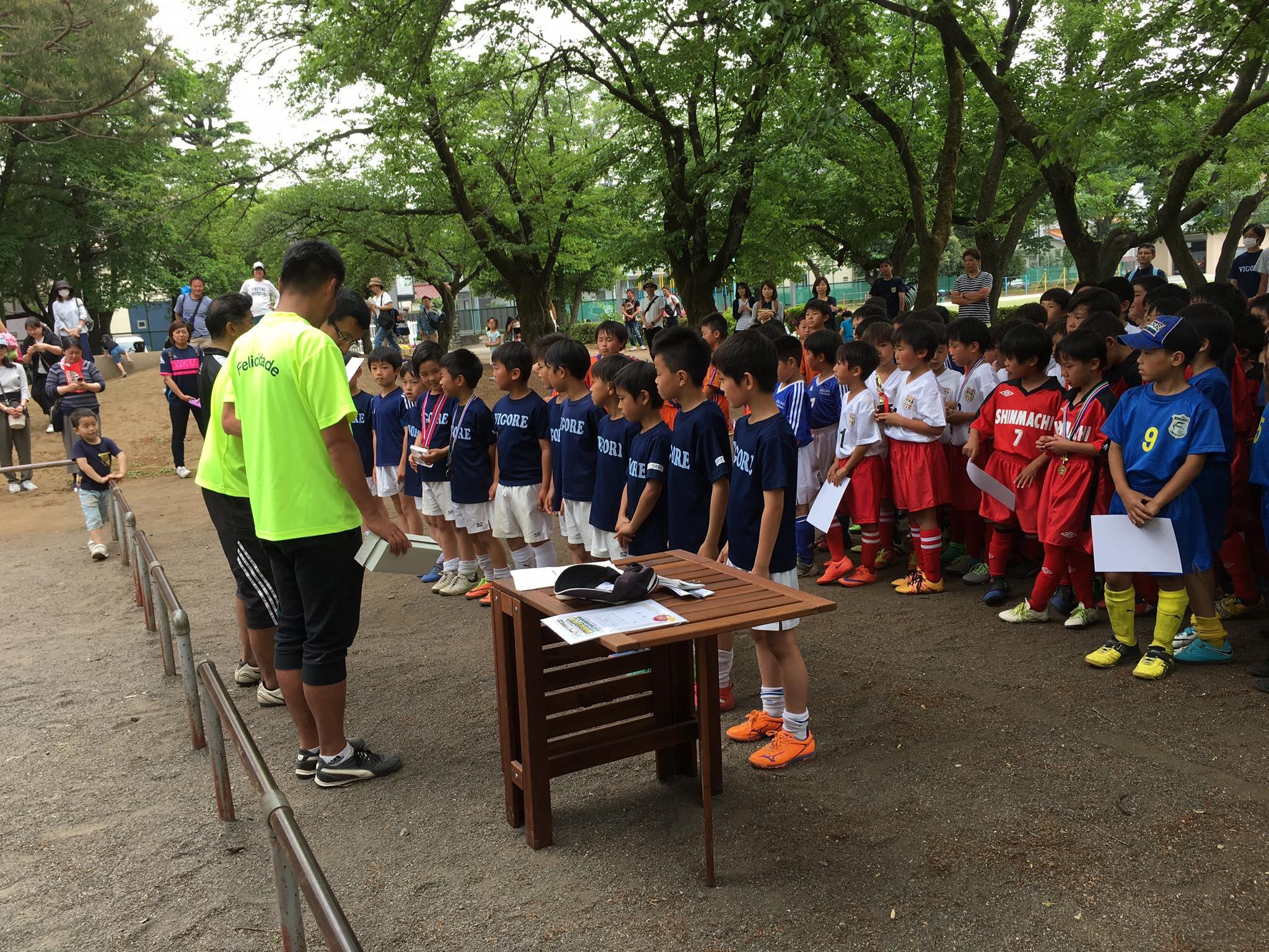 東大和Jr.3年生 国立2小SCスプリングカップ1