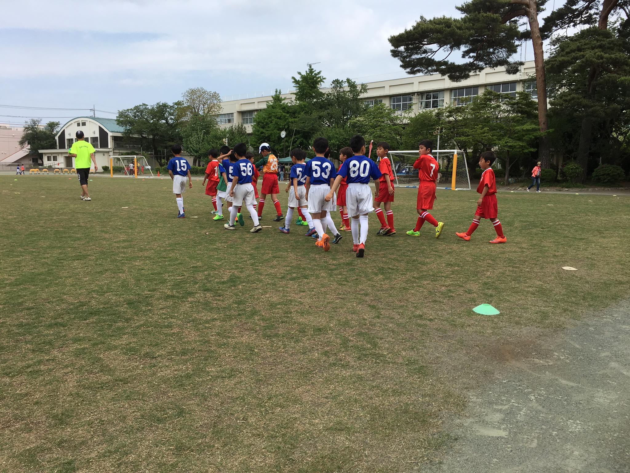 東大和Jr.3年生 国立2小SCスプリングカップ2