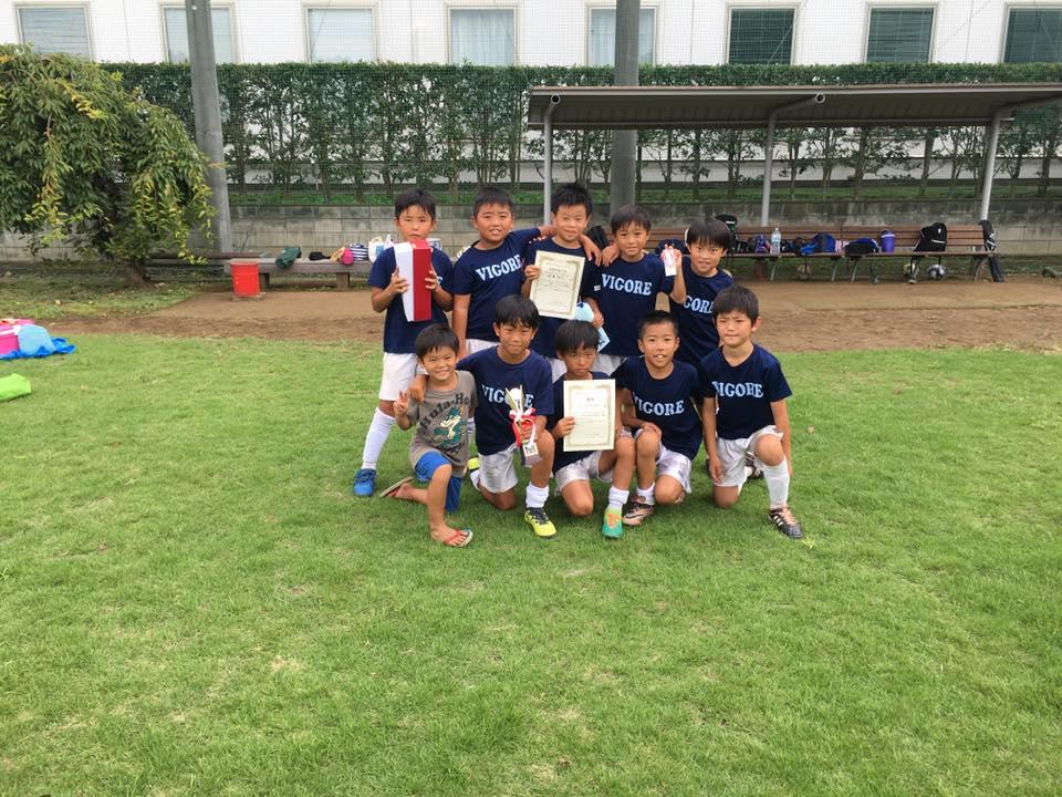 東大和Jr.3年生 ミラクル招待大会優勝1