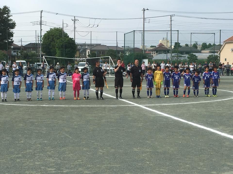 東大和Jr.4年生 フェアプレーカップ準優勝2