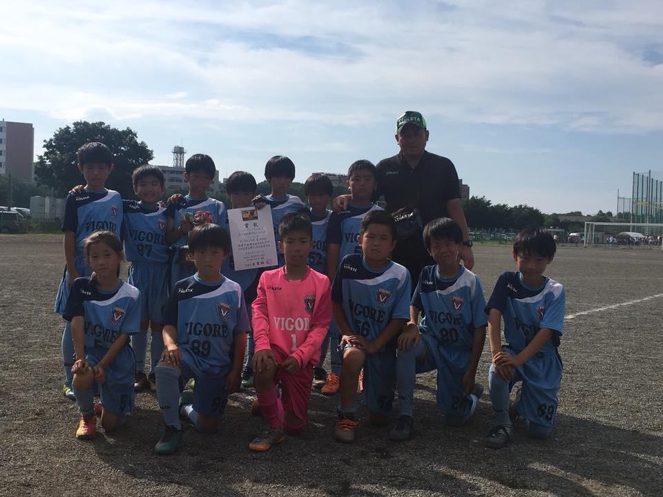 東大和Jr.4年生 ハトマークフェアプレーカップ東京都四年生中央大会2