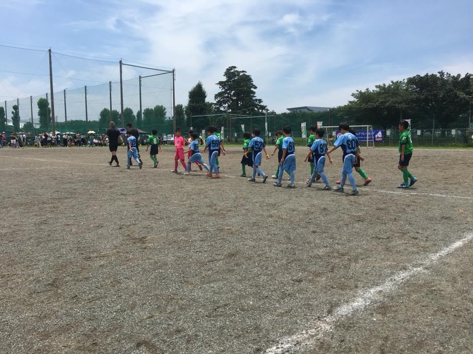 東大和Jr.4年生 ハトマークフェアプレーカップ東京都四年生中央大会3