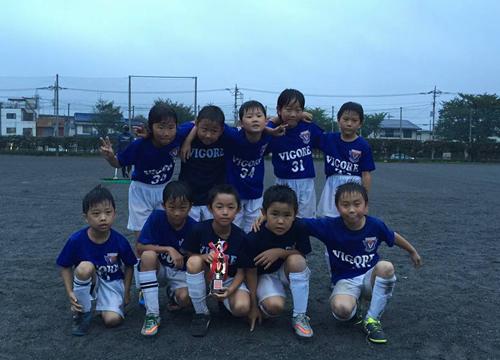 東大和少年サッカー3年生