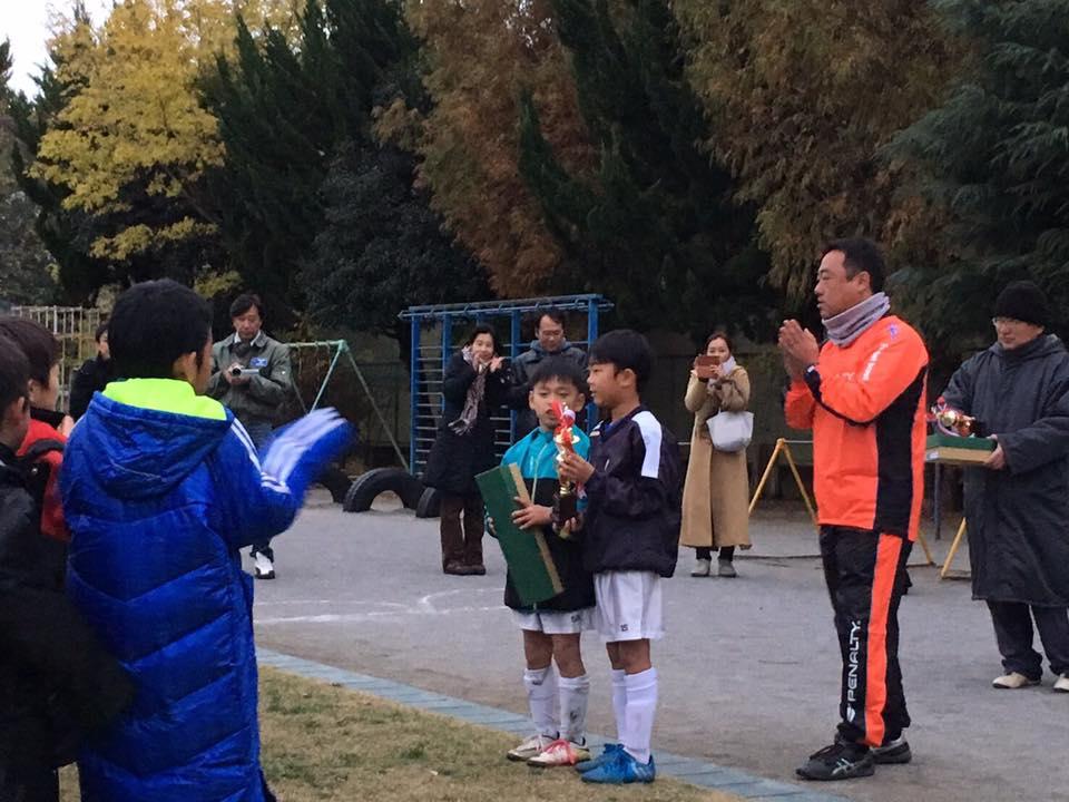 東大和Jr.2年生 東大和市秋季交流大会優勝!